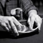 How to Shuffle Tarot Cards - Riffle Shuffle